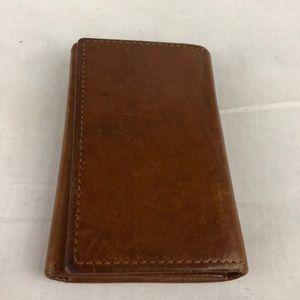 Vintage leather Coach key case